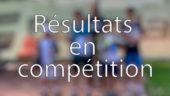 Résultats en compétitions