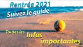 Rentrée 2021 – Suivez le guide!